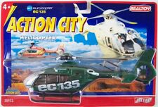 NEW Realtoy Eurocopter EC135 Green Diecast Helicopter Model, Not a Kit, Rare!