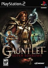 PLAYSTATION 2 PS2 GAUNTLET SEVEN SORROWS - EXCELLENT CONDITION - FREE SHIPPING