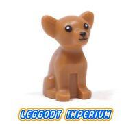 LEGO Minifigure Animal - Chihuahua Dog - dark flesh FREE POST