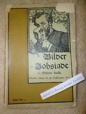 Wilhem Busch 'Bilder der Jobsiade' Taschenbuch 1901