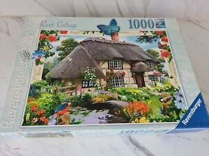 Ravensburger 1000 piece jigsaw puzzle Country Cottage Collection No 5 River...