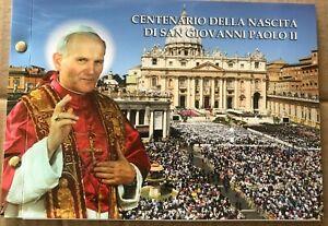 Vatikan 2020 2 Euro Numisbrief Centenario della nascita di san Giovanni Paolo II