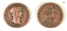 Roman Æ Sestertius of Trajan