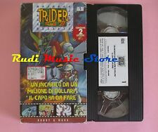 film VHS cartonata TRIDER G7 VOL. 1 HOBBY & WORK 1998  (F44*) no dvd