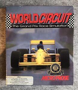 World Circuit - Grand Prix : Commodore Amiga System : Microprose Software : VGC