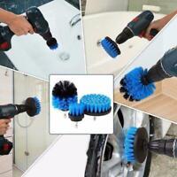 3X Runde Elektrische Borste Drill Pinsel Tub Rotary Reinigungs Werkzeug Sup B7W6