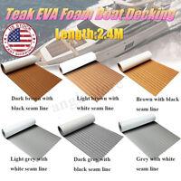 US Boat Flooring Marine Flooring EVA Foam Yacht Teak Decking Sheet Carpet Floor