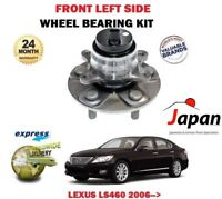 FOR LEXUS LS460 LS600H 2006-> NEW 1 X FRONT LEFT WHEEL BEARING HUB KIT