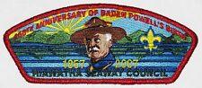 Hiawatha Seaway Council (NY) SA-84 2007 Baden Powell 150th ANN CSP  BSA