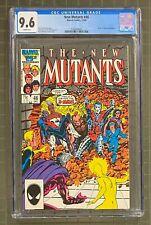 NEW MUTANTS #46 Marvel Comics 1986 CGC 9.6 X-Men & Magus Appearance