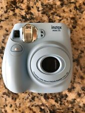 Fujifilm Instax Mini 7s Sky Blue Camera ONLY
