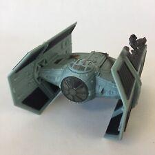 1996 Star Wars Micro Machines Action Fleet Darth Vader's Tie Fighter Battle Dmg