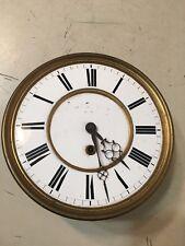 Vintage Vienna Regulator 1 Weight Clock Movement Dial Wien Incomplete