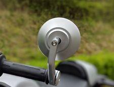 CNC Silver Bar End mirrors Triumph Speed triple genuine quality pair HJR Product