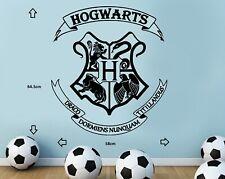 HARRY POTTER HOGWARTS COAT OF ARMS CUT VINYL WALL ART STICKER / DECAL