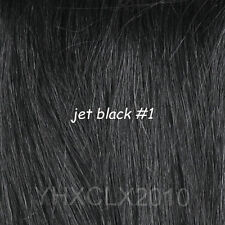 """Real Human Hair Extensions New Full Head Best Quality Clip in 14""""-30""""70-120g"""