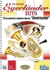 Steirische Harmonika Noten : Die grossen Egerländer Hits m. CD mit GRIFFSCHRIFT