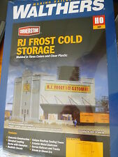 "Walthers Cornerstone HO #3020 RJ Frost Ice & Storage -- Kit - 11 x 11"" 28 x 28cm"