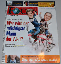 Focus Heft 42 / 2004  -  Wer wird der mächtigste Mann der Welt?