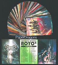 LUIS ROYO 2 - Series 2 - 90 Card Fantasy Art Set- FREE US Priority Mail Shipping