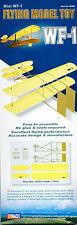 WF-1 Wright Brothers Mini Flying Model Toy Plane Kit - Lyonaeec Glider 88009