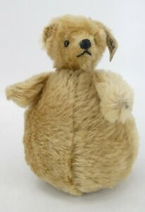 Steiff Roly Poly Bear #0115/18 w/ Tag Germany Ltd Ed #1930/3000 Replica of 1909