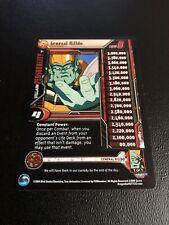 Dragon Ball Z Gt Ccg General Rildo Lvl 1 Foil Unlimited! Lost Episode Saga!