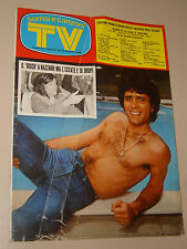 TV SORRISI CANZONI=1974/25=GIANNI NAZZARO=LE ORME=MICHEL FUGAIN=LOREDANA BERTE=