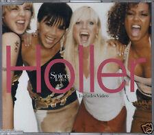 SPICE GIRLS - HOLLER 2000 EU CD SINGLE ENHANCED VIDEO VIRGIN - VSCDT1788