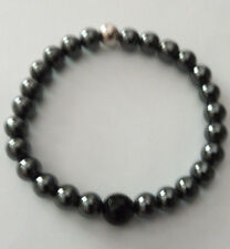 Men's Handmade Livio For Men  hematite Beaded  Bracelelet