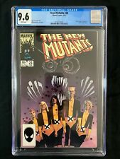 New Mutants #24 CGC 9.6 (1985) - Cloak & Dagger, Magneto and Rogue appearance