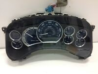 01 02 CADILLAC ESCALADE INSTRUMENT GAUGE CLUSTER SPEEDOMETER ASSEMBLY 84K