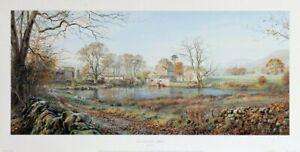 """Rex Preston """"MUCKY DUCK FARM """"Art Print Cumbria Rare Sold out Brand New Last Few"""