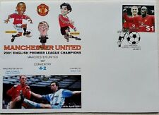 Manchester United def Coventry 14th April 2001 EPL Champions First Day Cover