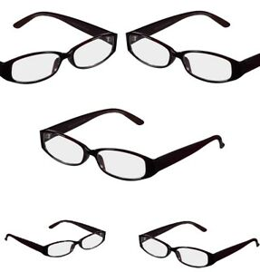 lot of 5 +2.00 Strength Womens Brown Reading Glasses Essentials by Foster Grant