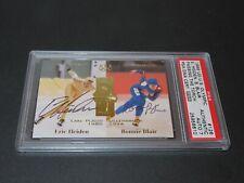 Bonnie Blair & Eric Heiden Signed 1996 Upper Deck Card #126 Auto PSA/DNA COA
