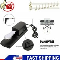 Damper Sustain Pedal Foot Switch For Electronic Piano Keyboard Music Synthesizer
