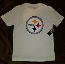 86cdc47d1 Pittsburgh Steelers Youth T Shirt Top Large 14 16 Football Logo Boy Girl