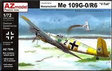 AZ Models 1/72 MESSERSCHMITT Me-109G-0/R6 German V-Tail Fighter