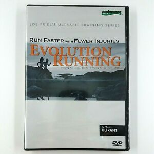 EVOLUTION RUNNING  Run Faster With Fewer Injuries (DVD, 2005) Joe Friel  SEALED