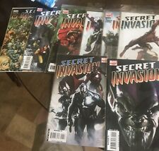 Secret Invasion 2 3 4 5 6 7 8 SI Saga run lot VF/NM 2008 Marvel