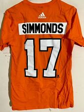 adidas NHL T-Shirt Philadelphia Flyers Wayne Simmonds Orange sz L dafa8be7b