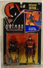 Batman The Animated Series Infrared Batman Launching Bat-Signal Discs Kenner MOC
