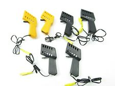 Lot of 6 TYCO Slot Car Controller HO Speed Controller Trigger Black Yellow