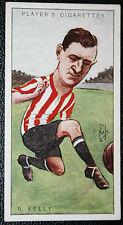 Sunderland   Kelly   Original Vintage Footballer Card