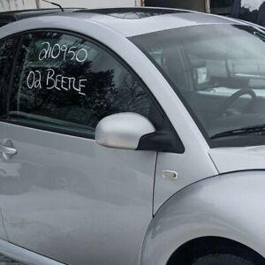 Door Mirror VW VOLKSWAGEN BEETLE Right 00 01 02 03 RH SIDE POWER SILVER