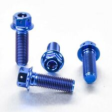 Pro-Bolt TI Front Brake Caliper Bolts DD Blue TIFBMON30DDB FZS1000 Fazer 01-05