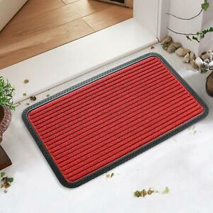 Mat Pack of 1 Pc Stripped Pattern| Rubber Backing| Long-Lasting Polypropylene