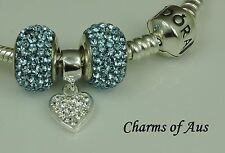 GENUINE Pandora bracelet all sizes + 3 stunning charms. Christmas Special