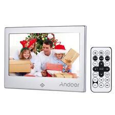 "Andoer 7 ""LED Cornice digitale 720P Video / Musica / Calendario / D7Y8"